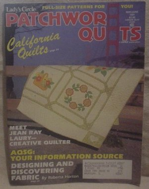 Lady's Circle Patchwork Quilts Magazine May/June 1991