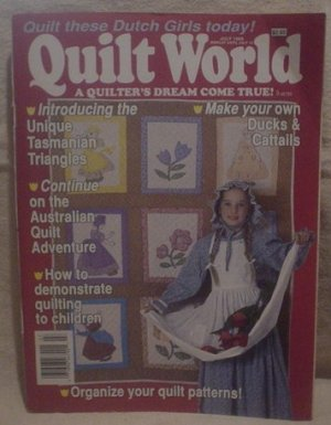 Quilt World Magazine July 1989