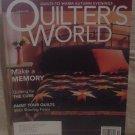 Quilter's World Magazine October 2005