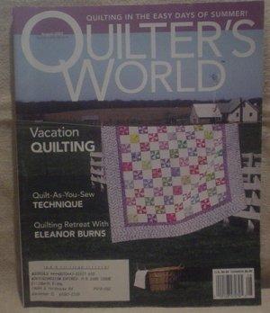 Quilter's World Magazine August 2003
