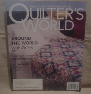 Quilter's World Magazine April 2005