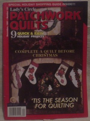 Lady's Circle Patchwork Quilts Magazine December 1997