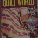 Quilt World Magazine October 1982