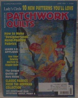 Lady's Circle Patchwork Quilts Magazine June 1994