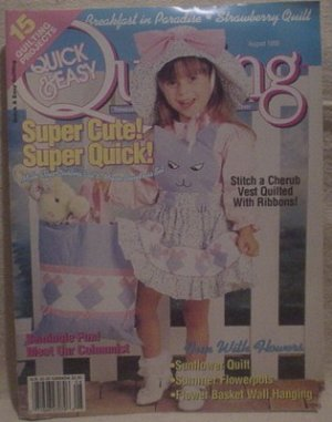 Quick & Easy Quilting August 1995
