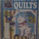 Stitch 'N Sew Quilts February 1989