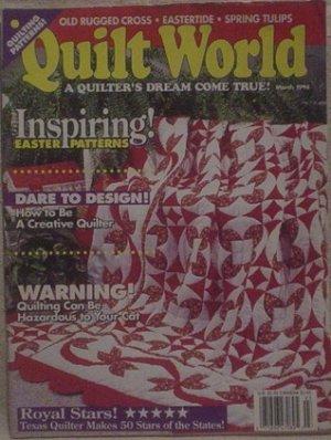 Quilt World Magazine March 1994