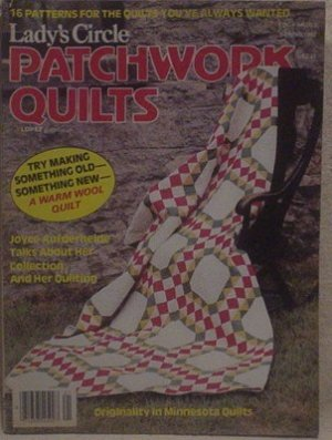 Lady's Circle Patchwork Quilts Spring 1982
