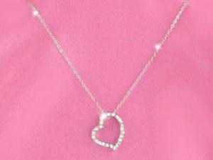 Crystal Austrian Crystal Heart Necklace