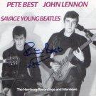 Pete Best The Beatles SIGNED Album COA 100% Genuine