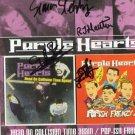 The Purple Hearts FULLY SIGNED Album COA 100% Genuine