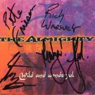 The Almighty FULLY SIGNED Album COA 100% Genuine