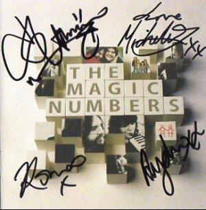 The Magic Numbers FULLY SIGNED Album COA 100% Genuine