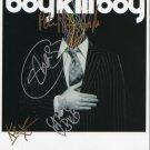 "Boykillboy Boy Kill Boy FULLY SIGNED 8"" x 10"" Photo COA 100% Genuine"