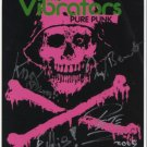 "The Vibrators FULLY SIGNED 8"" x 10"" Photo COA 100% Genuine"