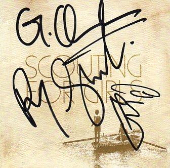 Scouting For Girls FULLY SIGNED Album COA 100% Genuine