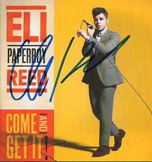 Eli Paperboy Reed SIGNED Album COA  100% Genuine