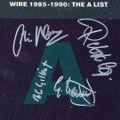 Wire FULLY SIGNED Album COA  100% Genuine