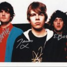 "The Klaxons FULLY SIGNED 8"" x 10"" Photo COA 100% Genuine"