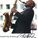 "Branford Marsalis SIGNED 8"" x 10"" Photo COA 100% Genuine"