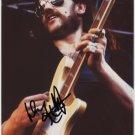 Motorhead Lemmy SIGNED Photo 1st Generation PRINT Ltd 150 + Certificate (1)