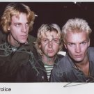 The Police FULLY SIGNED Photo 1st Generation PRINT Ltd 150 + Certificate (1)