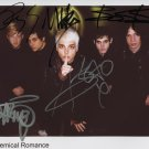 My Chemical Romance FULLY SIGNED Photo 1st Generation PRINT Ltd 150 + Certificate (3)