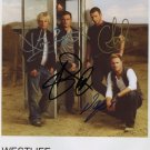 Westlife FULLY SIGNED Photo 1st Generation PRINT Ltd 150 + Certificate (8)