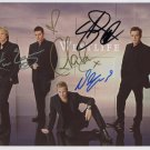 Westlife FULLY SIGNED Photo 1st Generation PRINT Ltd 150 + Certificate (7)