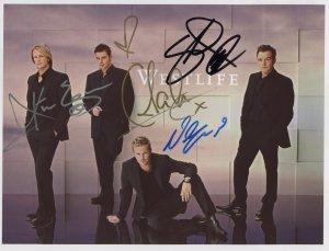 Westlife FULLY SIGNED Photo 1st Generation PRINT Ltd 150 + Certificate (7)