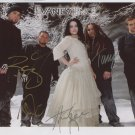 Evanescence SIGNED Photo 1st Generation PRINT Ltd 150 + Certificate (1)
