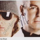 Pet Shop Boys SIGNED Photo 1st Generation PRINT Ltd 150 + Certificate (1)