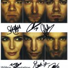 Within Temptation SIGNED Photo 1st Generation PRINT Ltd 150 + Certificate (2)