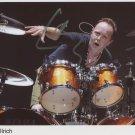 Metallica Lars Ulrich SIGNED Photo 1st Generation PRINT Ltd 150 + Certificate (1)