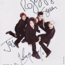 The Cure FULLY SIGNED Photo 1st Generation PRINT Ltd 150 + Certificate (3)