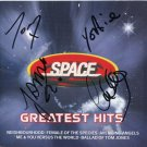 Space FULLY SIGNED CD Album + Certificate Of Authentication 100% Genuine