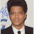 Bruno Mars SIGNED Photo 1st Generation PRINT Ltd 150 + Certificate (1)