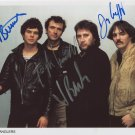 The Stranglers FULLY SIGNED Photo 1st Generation PRINT Ltd 150 + Certificate (1)