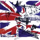 Sex Pistols FULLY SIGNED Photo 1st Generation PRINT Ltd 150 + Certificate (1)
