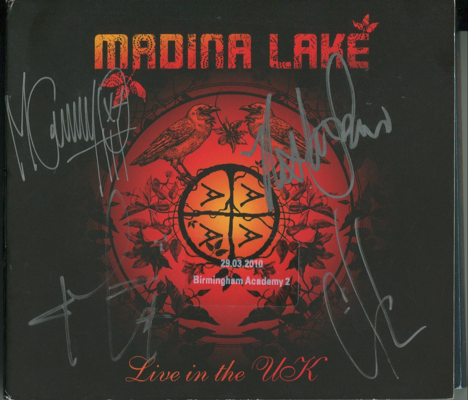 Madina Lake FULLY SIGNED 2CD Album Set + Certificate Of Authentication 100% Genuine