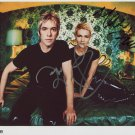 "Roxette SIGNED 8"" x 10"" Photo + Certificate Of Authentication 100% Genuine"