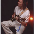 "Steve Hackett SIGNED 8"" x 10"" Photo + Certificate Of Authentication 100% Genuine"