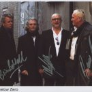 """Nine 9 Below Zero FULLY SIGNED 8"""" x 10"""" Photo + Certificate Of Authentication 100% Genuine"""