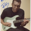 "Robert Cray SIGNED 8"" x 10"" Photo + Certificate Of Authentication  100% Genuine"