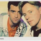 "Electronic New Order Smiths SIGNED 8"" x 10"" Photo + Certificate Of Authentication  100% Genuine"