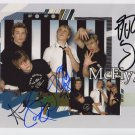 "McFly FULLY SIGNED 8"" x 10"" Photo + Certificate Of Authentication  100% Genuine"
