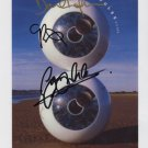 "Pink Floyd Dave Gilmour + 2 SIGNED 8"" x 10"" Photo + Certificate Of Authentication 100% Genuine"