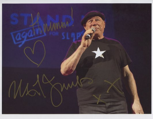 """Neil Innes SIGNED 8"""" x 10"""" Photo + Certificate Of Authentication 100% Genuine"""