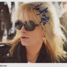 "Michael Monroe Hanoi Rocks SIGNED 8"" x 10"" Photo + Certificate Of Authentication  100% Genuine"