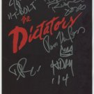 The Dictators (Band) FULLY SIGNED Photo + Certificate Of Authentication 100% Genuine